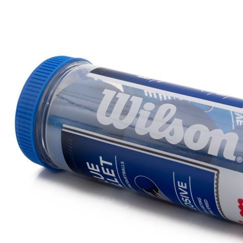 Imagem de Bola De Frescobol Wilson - Blue Bullet - Tubo 3 Bolas