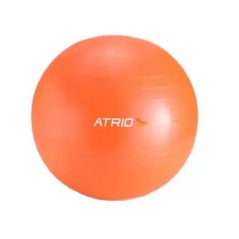 Imagem de Bola de Ginástica 55cm de Diâmetro Material PVC Laranja Atrio - ES118