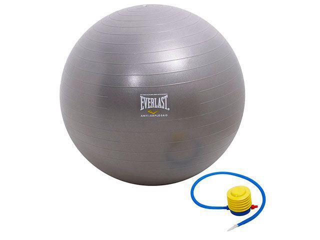 Imagem de Bola de Ginástica 65cm Anti-Estouro c/ Bomba de Ar