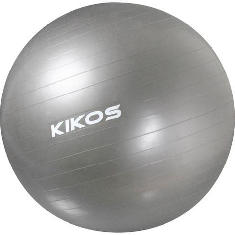 Imagem de Bola de Ginástica Kikos Fitball 75 cm Cinza