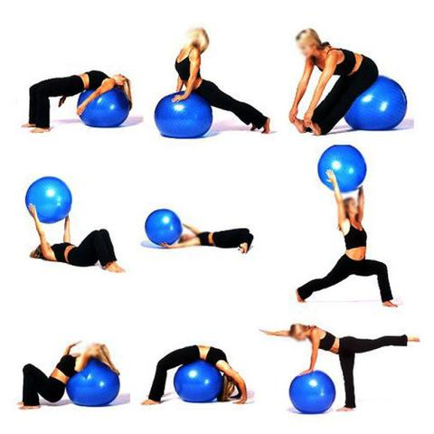 Bola de Massagem Massage Ball 65cm C  Bomba Acte - Pilates e Yoga ... c5d836d2b1f20