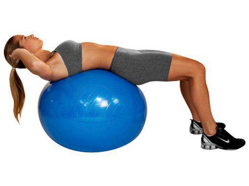 Imagem de Bola de Pilates 65cm com Bomba de Ar
