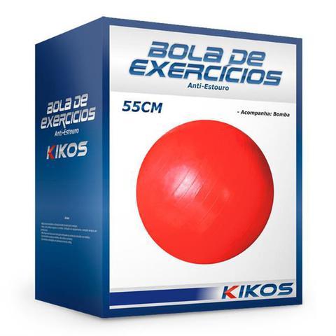 Imagem de Bola De Pilates Fit Ball Superfície Rugosa 55cm Ab3630 Kikos
