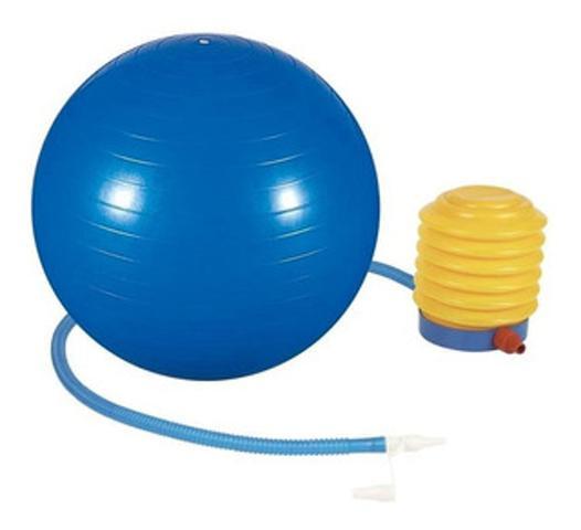 Imagem de Bola de pilates ginastica 55cm com bomba supermedy