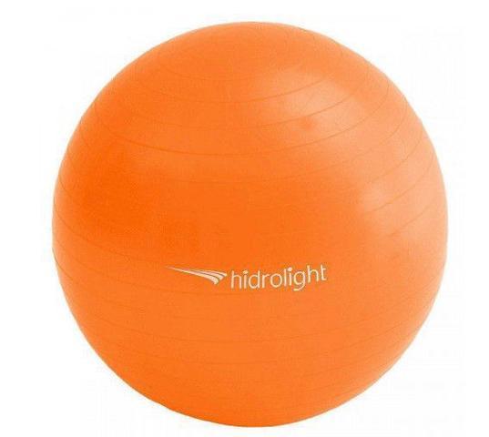 Imagem de Bola de Pilates Ginastica Hidrolight 55 cm - Laranja