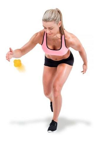 Imagem de Bola Fisioterapia Tempo E Reação Massagem Coordenação Motora reflexo basquete, handebol, tênis