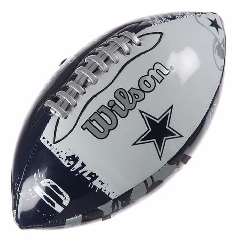 Bola Futebol Americano Wilson NFL Dallas Cowboys - Bola de Futebol ... 71fe763598d