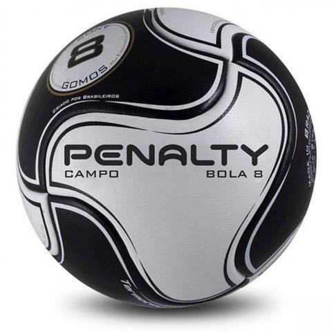 Imagem de Bola Futebol de Campo Semi Profissional R2 8 S11 Preta Penalty