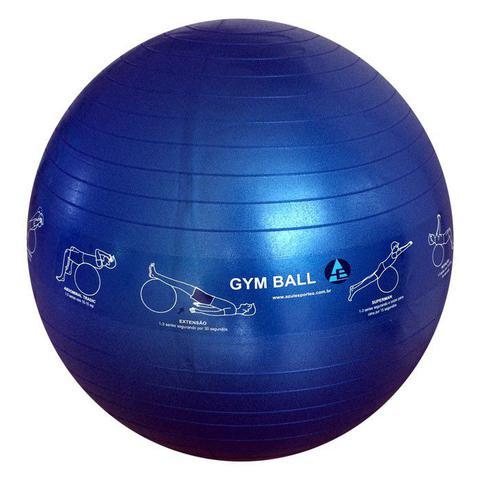 Imagem de Bola Ginástica Profissional Gym Ball 65cm