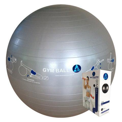 Imagem de Bola Ginástica Profissional Gym Ball 75cm