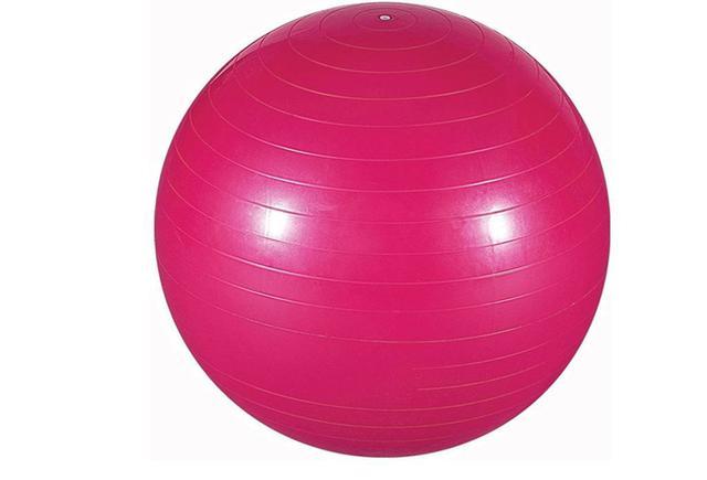 Imagem de Bola Inflável 65 Cm C/ Bomba Ginastica Yoga Pilates Fitness