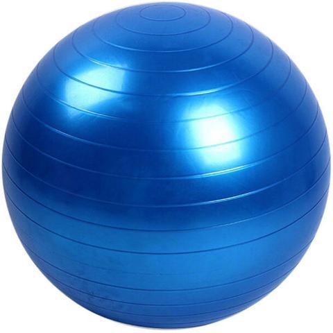Imagem de Bola para Pilates exercícios 65cm suporta até 150kg GT351-BL - Lorben
