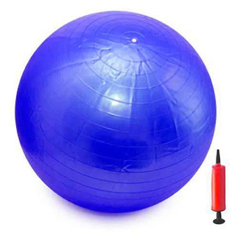 Imagem de Bola Pilates Yoga Abdominal Ginástica Fitness 75cm Gym Ball
