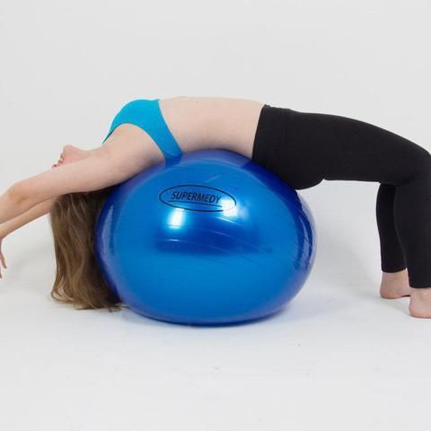 Imagem de Bola Suíça 55cm para Ginástica Pilates e Fisioterapia Supermedy