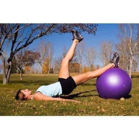 Imagem de Bola Suiça 55cm - Yoga Pilates Ginástica Exercícios Liveup