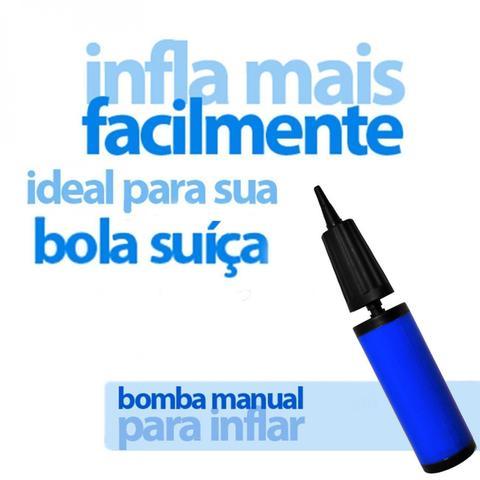 Imagem de Bola Suica 65 Cm + Bomba com Bico de 7 Mm  Liveup