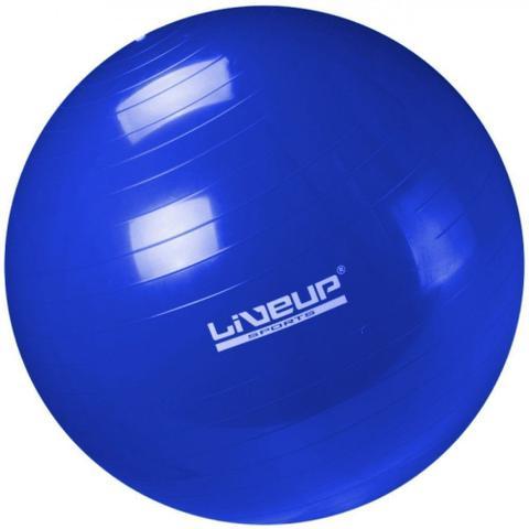 Imagem de Bola Suica 65 Cm + Mini Bomba + 2 Mini Bands + Faixa Elastica Media + Overball 25 Cm  Liveup