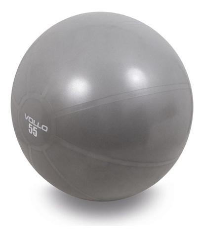 Imagem de Bola Suíça Ginástica Gym Pilates Yoga Fit 55cm + Bomba Vollo