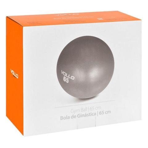 Imagem de Bola Suíça Ginástica Pilates 65cm - Com Bomba Vollo Até 300kg