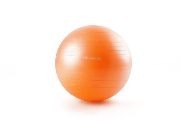 Imagem de Bola Suíça Gym Ball Para Exercícios De Pilates Yoga Fisioterapia 55cm