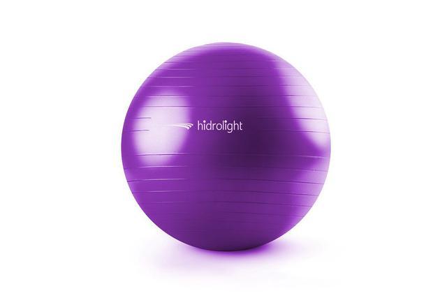 Imagem de Bola Suíça Gym Ball Para Exercícios De Pilates Yoga Fisioterapia 65cm