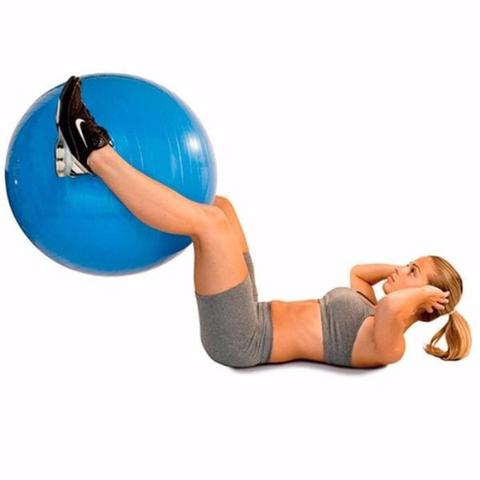 Imagem de Bola Suiça Liveup Pilates Yoga Ginástica 75 cm e DVD