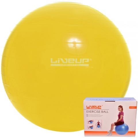 Imagem de Bola Suíça Para Pilates antiestouro - 75Cm - Amarela - Liveup