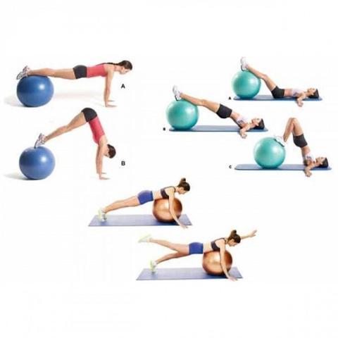 Imagem de Bola Suica para Pilates Yoga Fitness 85cm Liveup