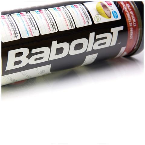 Imagem de Bola Tenis Babolat Roland Garros - Pack 03 Bolas - 01 Tubo