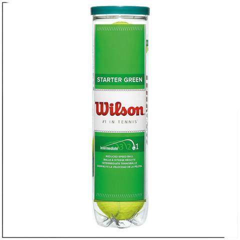 Imagem de Bola Tênis Starter Play Green Balls Wilson Com 04 Unidade