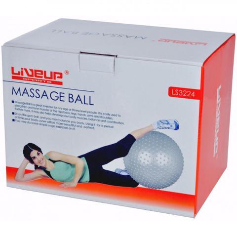 Imagem de Bola Yogine 65 Cm Massagem Ball Fitball Liveup Pilates
