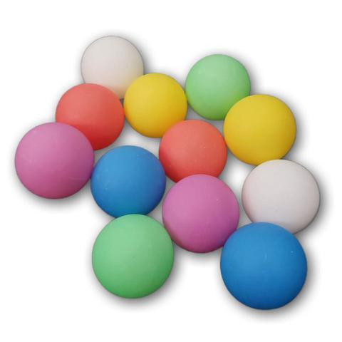 Imagem de Bolas De Ping Pong Colorida Pacote C/50 Unidades