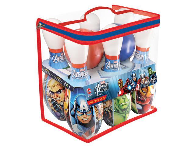 Imagem de Boliche Marvel Avengers Assemble 8 Peças