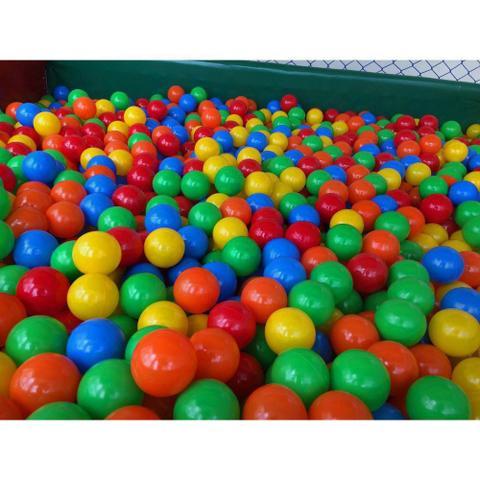 Imagem de bolinhas coloridas saco c/100 bolas melhro preço