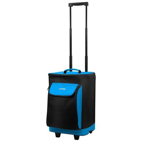 Imagem de Bolsa Carrinho Cooler 25 Litros com Rodinhas Azul - Soprano