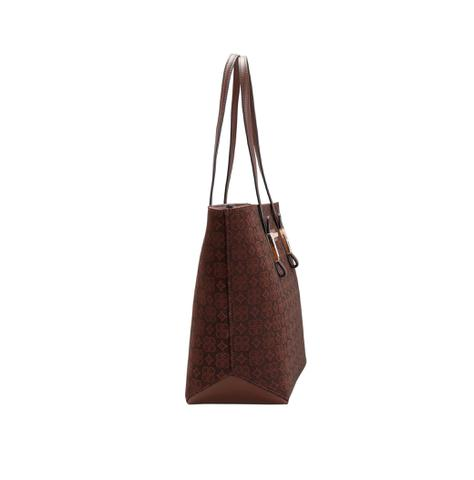 Imagem de Bolsa chenson feminina shopping bag monograma 3481360 marrom cafe