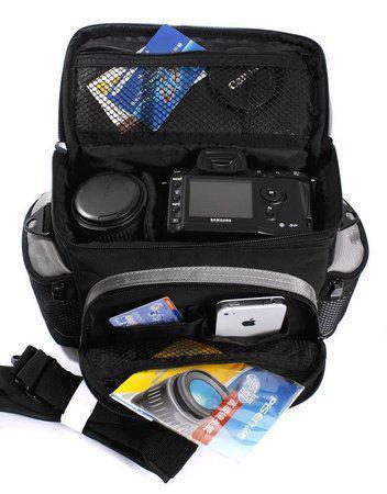 Imagem de Bolsa Compacta para Câmeras e Filmadoras Aerfeis NB-7002