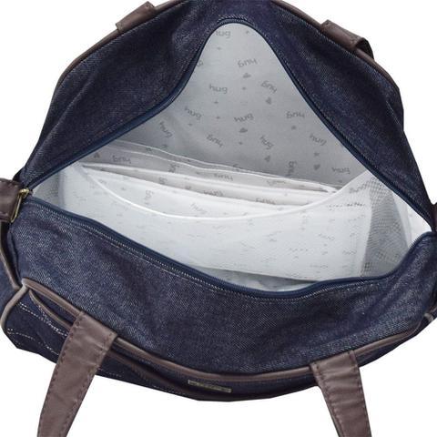 Imagem de Bolsa de Maternidade Versinho M - Jeans - Hug
