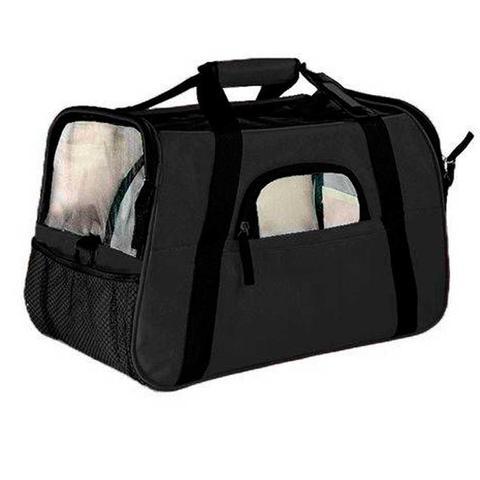 Imagem de Bolsa de Transporte Cães e Gatos Grande The Dog Bag Preta