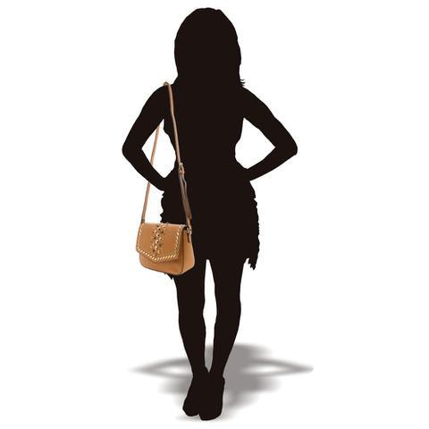 Imagem de Bolsa Feminina Transversal Chenson - CG81798 CARAMELO