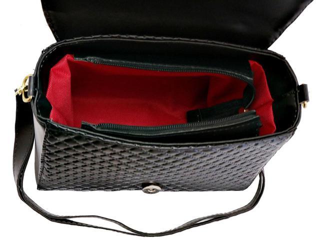 Imagem de Bolsa Feminina Transversal Kit com 3 peças Bolsa mais Maleta Lançamento Livia Sabatini