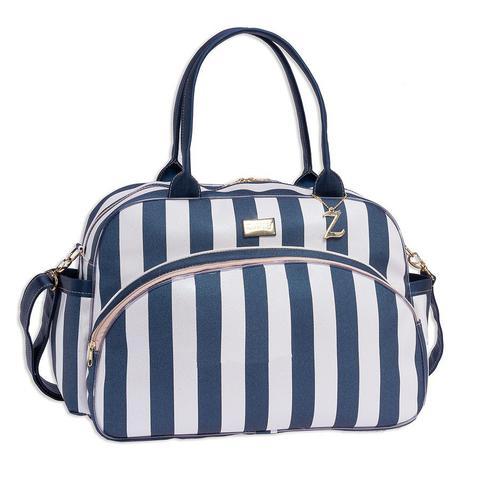 Imagem de Bolsa Maternidade Bebê Luxo Elegance Azul Marinho G