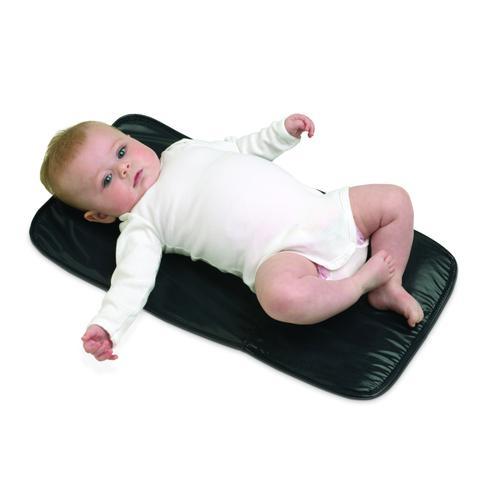 Imagem de Bolsa Maternidade Deluxe Preta Unissex Com Trocador Infanti
