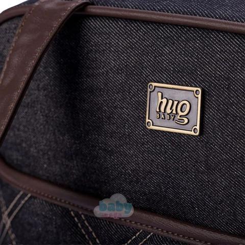 Imagem de Bolsa Maternidade Versinho Jeans G - Hug