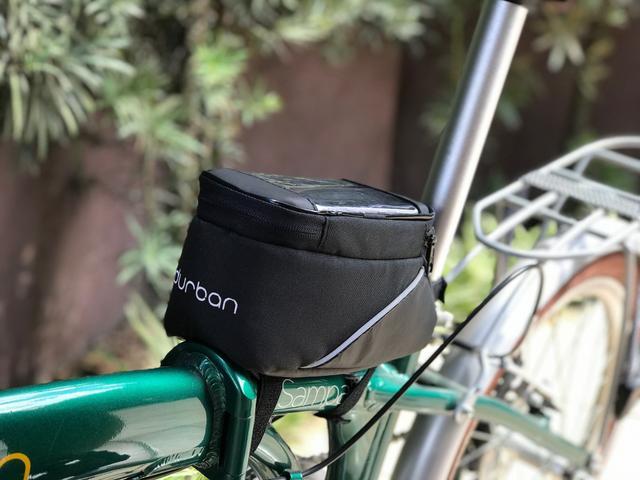 Imagem de Bolsa Para Celular Quadro De Bicicleta Durban Mobile Preta