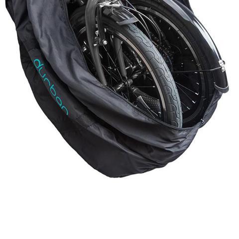 Imagem de Bolsa Para Transportar Bicicleta Dobrável Aro 20 Durban 727010 Preta