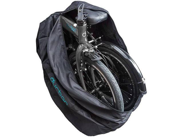 Imagem de Bolsa para Transporte de Bicicleta Dobrável Preto