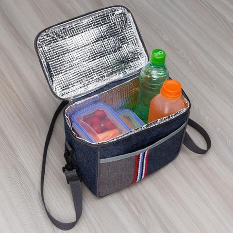 Imagem de Bolsa Térmica Cooler Freezer 7,6 Litros Para Cerveja Praia Camping Academia Viagem