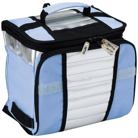 Imagem de Bolsa Térmica Ice Cooler 7,5 Litros Azul MOR