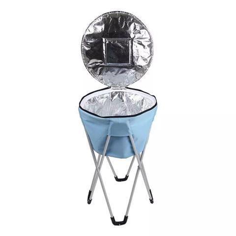 Imagem de Bolsa Termica Ice Cooler Mor 32 Litros C/ Pedestal Azul 3620